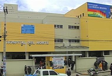 El Hospital del Norte no tiene espacio en  terapia intensiva.