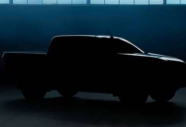 La camioneta se presentará el 17 de junio