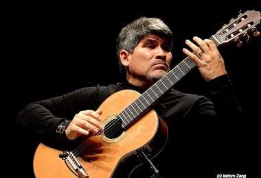 El músico cruceño será el representante boliviano en el recital/foto Isidoro Zang