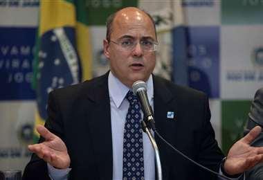 El gobernador de Río de Janeiro. Foto AFP