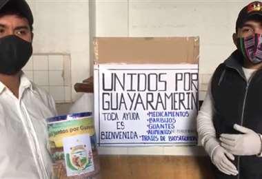 Residentes de Guayaramerin inician campaña solidaria en Sucre