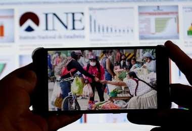 INE trabaja para transparentar la información y presentar de forma periódica/Foto: Ricardo Montero