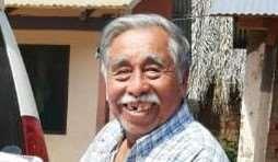 Modesto Poñé, exdirigente guarayo. Foto Dhester Agreda