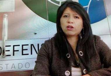 La Defensora del Pueblo Nadia Cruz hizo conocer el pronunciamiento