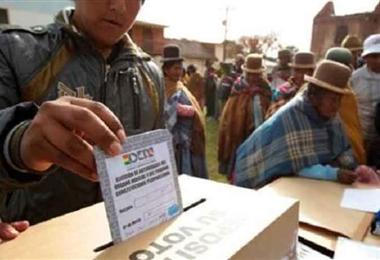 En Bolivia las elecciones generales están fijadas para el 6 de septiembre. Foto. Internet
