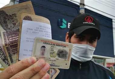 Más 9 millones de personas recibieron bonos del Estado/Foto: Ricardo Montero