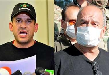 Twitter se convirtió en el ring de Camacho y Murillo