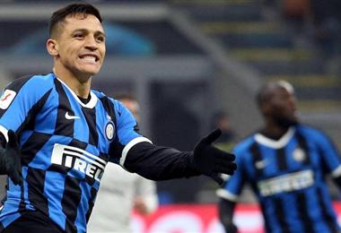 Alexis Sánchez ha jugado poco en el Inter