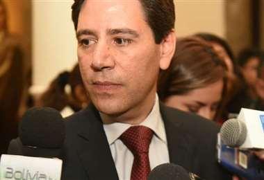 El presidente del TSE, Salvador Romero.
