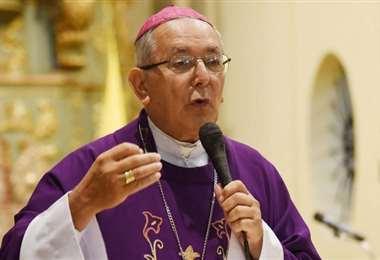 El arzobispo de Asunción. Foto Internet