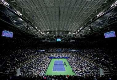 El Abierto de tenis de Estados Unidos mantiene sus planes de celebrarse a finales de agosto a falta de la aprobación de las autoridades, reportaron medios el lunes. Foto: AFP