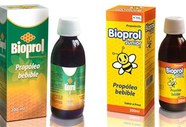 Bioprol se comercializa en presentaciones de 200 ml para adultos y niños