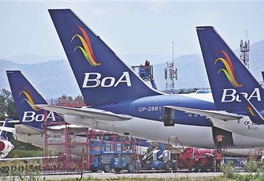Boliviana de Aviación realiza vuelos humanitarios de diferentes partes del mundo a nuestro país. Foto. Internet