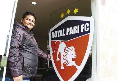 El dirigente de Royal Pari, Pablo Chávez, explicó los acuerdos con los futbolistas del club. Foto: Archivo