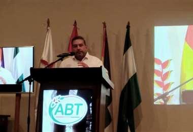 Áñez explicó que la iniciativa fue realizada por los informáticos de la ABT.