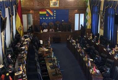 El Poder Ejecutivo afirma que la Asamblea Legislativa tiene trabados cinco proyectos de ley que impiden acceder a recursos./Foto: Asamblea