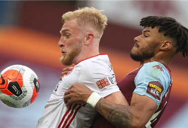 Aston Villa y Sheffield United acabó sin goles