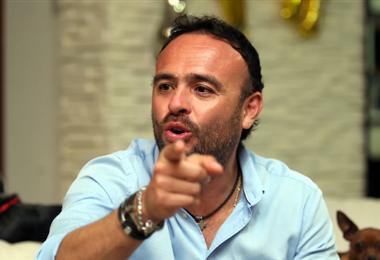 Juan Jordán es uno los que está convencido que a la TV se le puede sacar más réditos