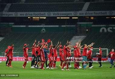 Bayern impone su juego en la Bundesliga