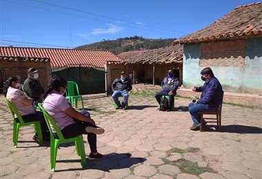 La reunión se realizó en Samaipata.
