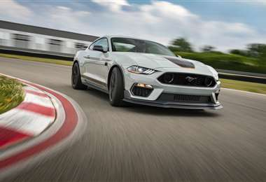El nuevo Mustang Mach 1 irrumpe en la escena de los deportivos de alto rendimiento