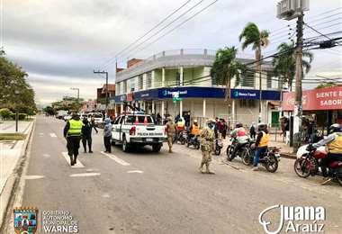 La alcaldesa Araúz informó sobre la flexibilización de la cuarentena.