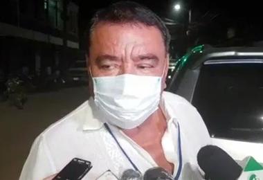 César Lijerón, exdirector del hospital Germán Busch Trinidad. Foto. Internet