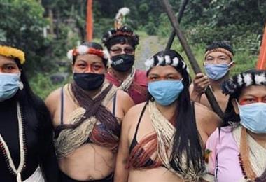 Los indígenas presentaron una demanda ante la justicia. Foto Internet