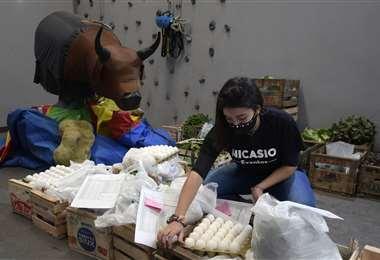 Emprendedores con nuevos negocios. Foto AFP