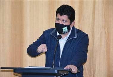 Luis Adolfo Flores, gobernador de Pando | Foto: Hugo Mopi