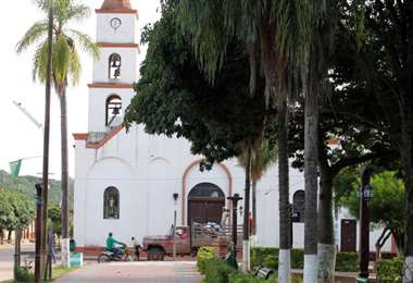 Charagua está con riesgo alto de contagio. Foto Ricardo Montero