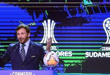 Alejandro Domínguez, presidente de la Confederación Sudamericana de Fútbol. Foto: internet