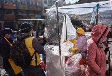 Controles al comercio en La Paz I AMN.