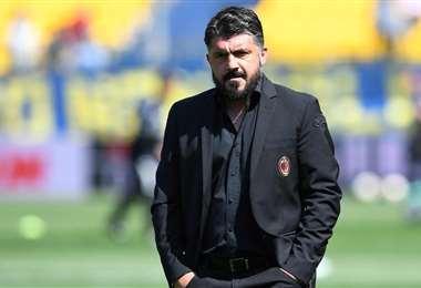 Genaro Gattuso tuvo que dejar de emergencia la ciudad de Nápoles para acompañar a su familia. Foto: Internet