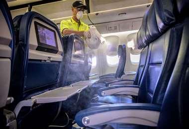 Nuevas normas para la aviación comercial. Foto Internet