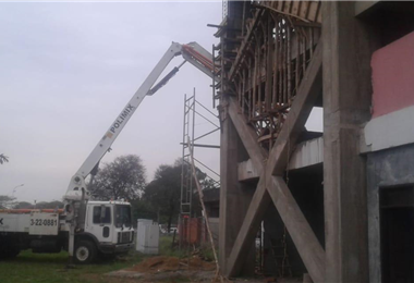 Se reforzó la infraestructura del estadio albo