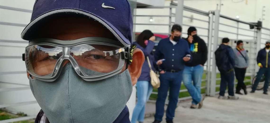 El virus avanza en Bolivia. Ricardo Montero