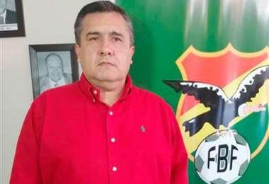 El dirigente cruceño Robert Blanco es vicepresidente de la Federación Boliviana de Fútbol. Foto: Internet