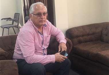 Rafael Paz, presidente de Guabirá, expresó la posición que tiene el directorio de su club. Foto: Internet