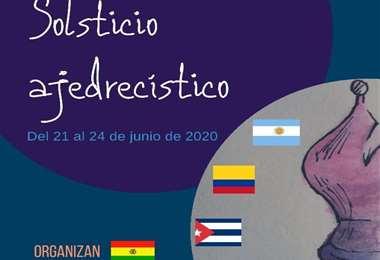 Una parte del afiche con el que se promociona el Primer Ciclo de Conferencias y Talleres de Ajedrez. Foto: Internet