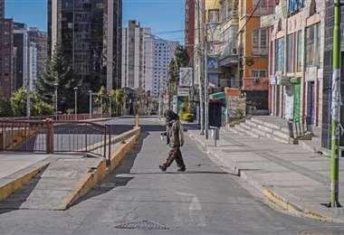 El encapsulamiento se cumplió en La Paz. APG Noticias