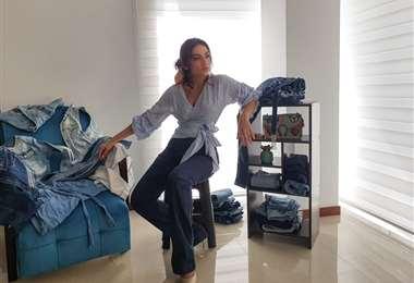 Carla Fiorillo es fanática de los jeans, ella propone reutilizarlos y darle un nuevo aspecto