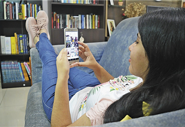 Las redes sociales son vitales para el desarrollo de la sociedad mundial. Fotos: internet y Marcelo Suárez