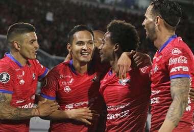 Wilstermann suma tres puntos en la Copa Libertadores, luego de dos fechas disputadas. Foto: APG Noticias