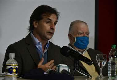 El mandatario uruguayo en Treinta y Tres. Foto El País
