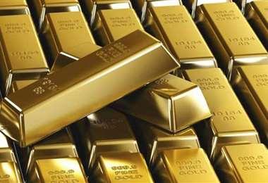 Lingotes de oro. Foto Internet