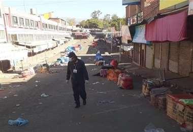 Así está Tarija. Foto: David Maygua