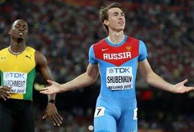 Sergey Shubenkov (110 vallas) es uno de los atletas referentes de Rusia. Foto: internet