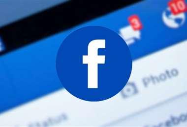 El logo de Facebook. Foto Internet