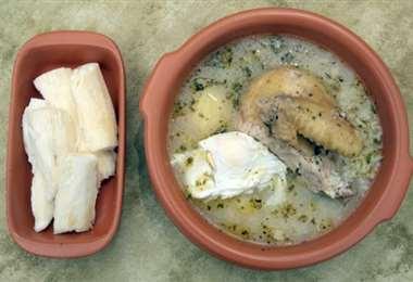 El locro es uno de los platos más tradicionales del oriente boliviano